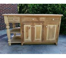 Best Amish unfinished kitchen islands