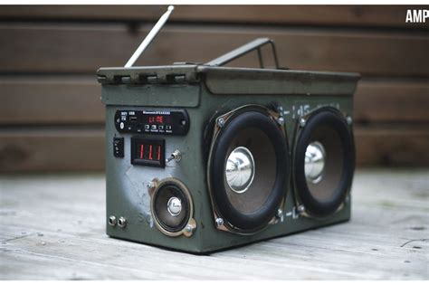 Ammo Box Bluetooth Speaker DIY