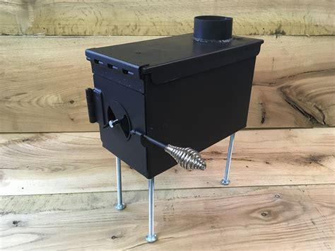 Ammo Box Wood Stove Plans