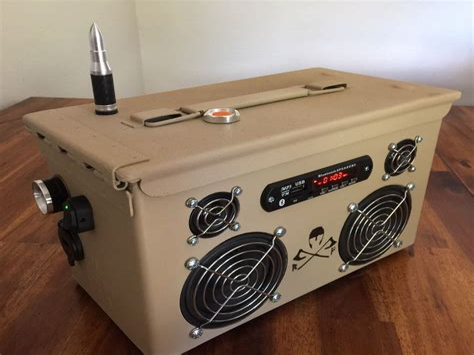 Ammo-Box-Speaker-Diy