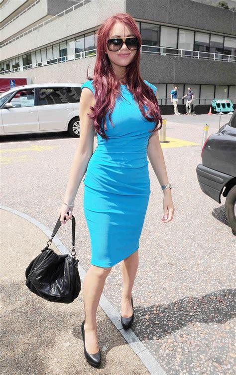 Amy-Childs-Blue-Dress