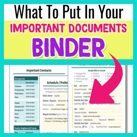 [pdf] An Easy Checklist To Organize Important Documents.