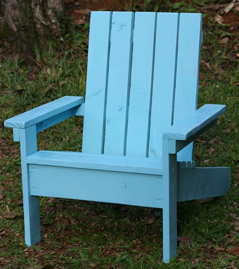 Ana White Adirondack Chair For Kids