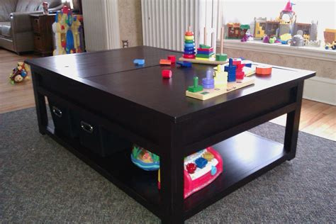 Ana White DIY Train Table