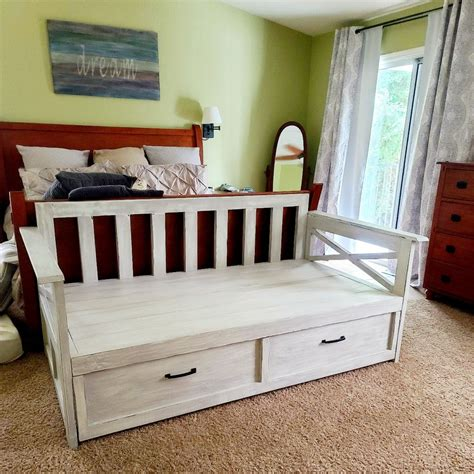 Ana White Daybed Storage Trundle Drawers Plans