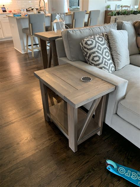 Ana White Diy Rustic End Table