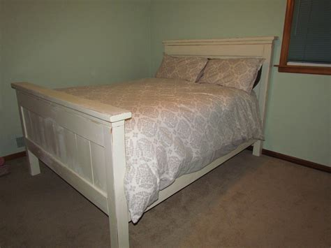 Ana White Farmhouse Queen Bed Plans With Box Spring