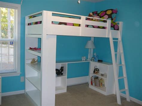 Ana White Loft Bed With Desk Plans