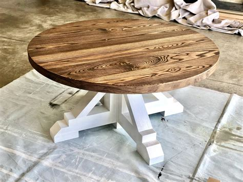Ana White Round Coffee Table Plans