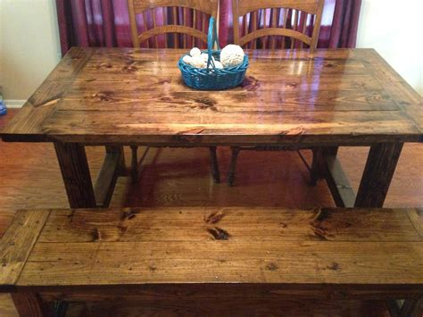 Ana White Rustic Bench Plans