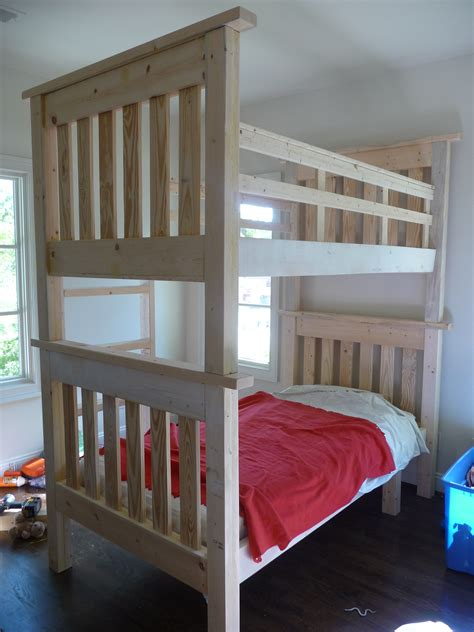 Ana White Simple Bunk Bed