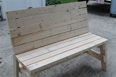 Ana White Simple Outdoor Bench Plans