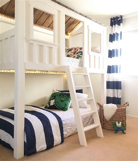 Ana-White-Cabin-Bunk-Bed
