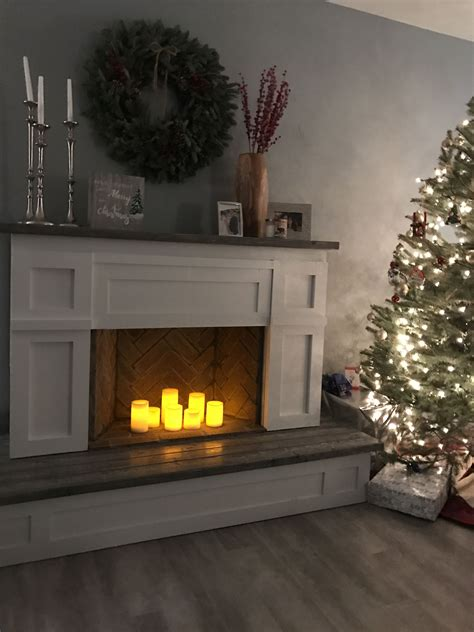 Ana-White-Faux-Fireplace