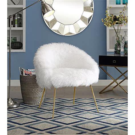 Ana-White-Fur-Accent-Chair