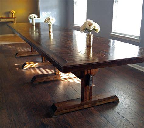 Ana-White-Herringbone-Table