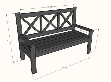 Ana-White-Large-Porch-Bench-Plans