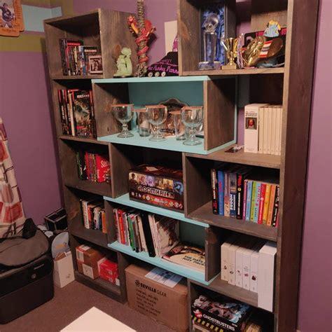 Ana-White-Puzzle-Bookcase