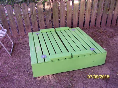 Ana-White-Sandbox-With-Benches