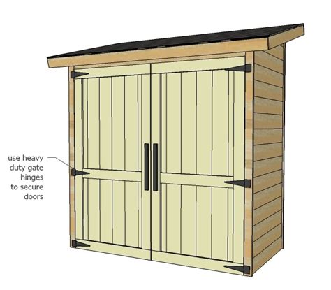 Ana-White-Small-Shed-Plans