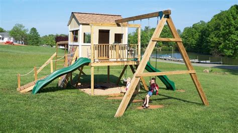 Ana-White-Swing-Set-For-Playhouse