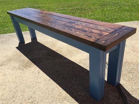Ana-White-Table-Benches