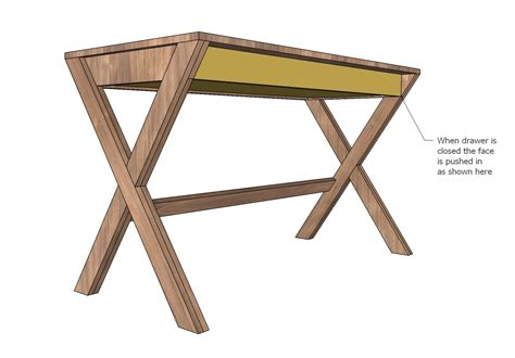 Ana-White-X-Desk-With-Drawer