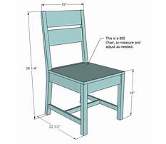 Best Ana white classic chairs made simple