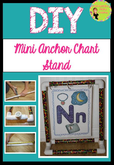 Anchor Chart Stand Diy