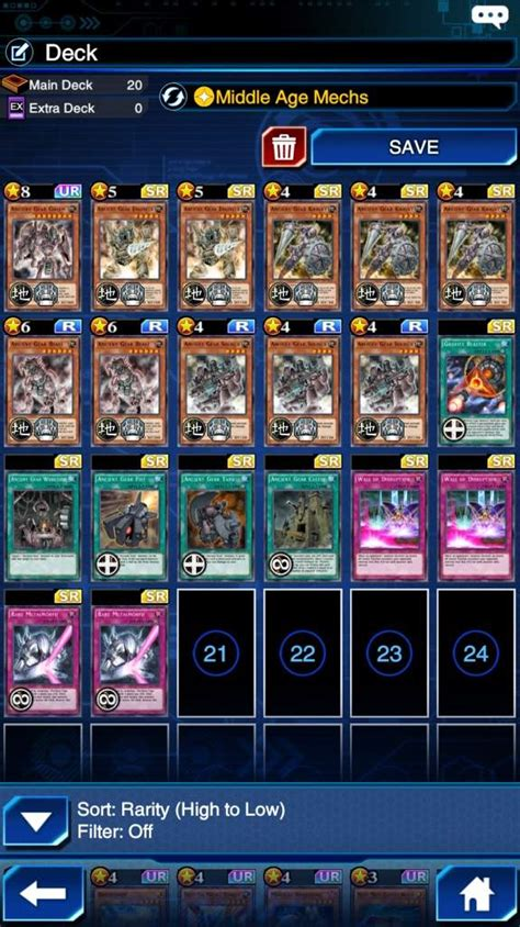 Ancient Gear Deck Build Duel Links Wiki