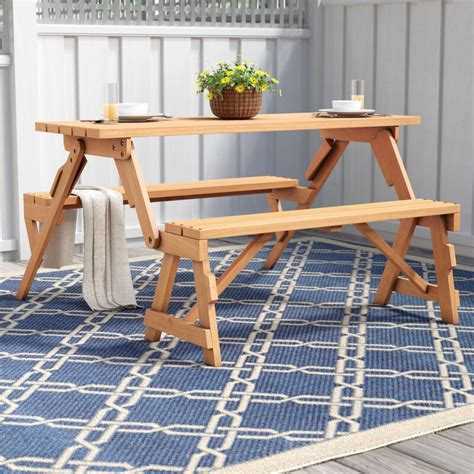 Andres Folding Picnic Table And Bench Plans