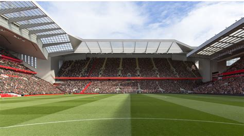 Anfield Road Stand Redevelopment Plans