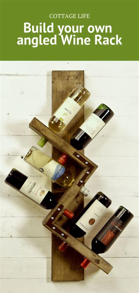 Angled-Wine-Rack-Plans