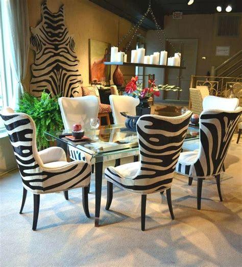 Animal-Print-Dining-Room-Chairs