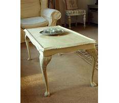 Best Annie sloan painted coffee tables
