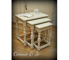 Best Annie sloan painted nesting tables