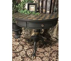 Best Annie sloan painted tables in graphite