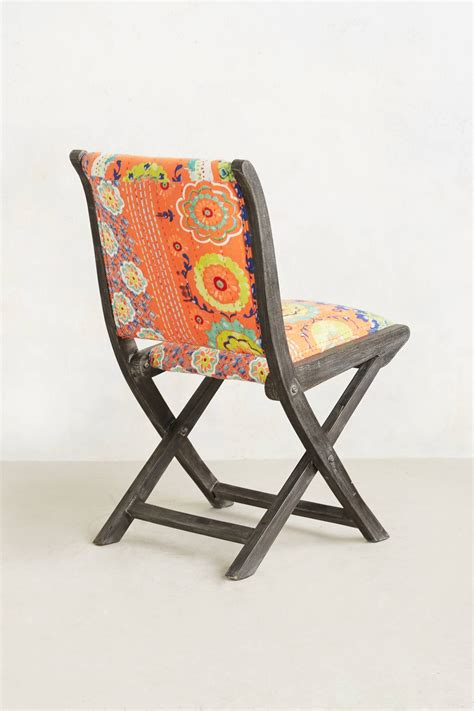 Anthropologie Folding Chair Diy