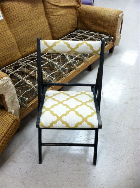 Anthropologie Folding Chairs Diy