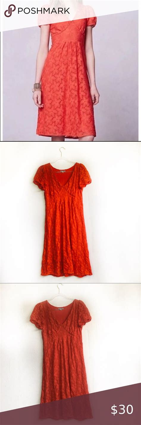 8bafd2f37f09 💯buy Cheap Anthropologie Leifnotes Dogflora Lace Dress - Vinted