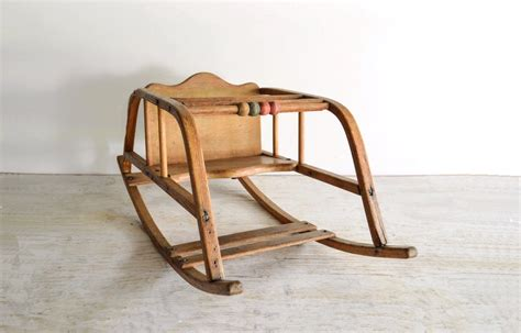 Antique Baby Rocking Chair