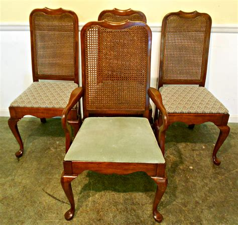 Antique Cane Back Dining Chairs