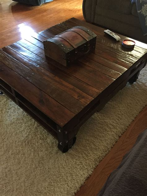 Antique Caster Coffee Table Diy Bracket