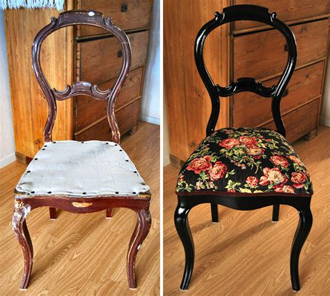 Antique Chair Restoring Diy
