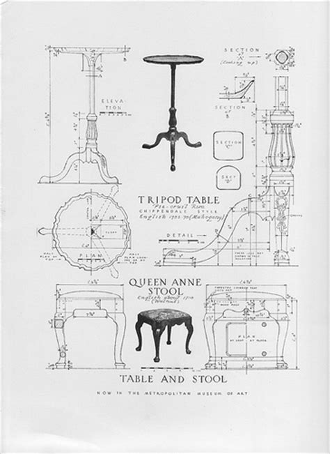 Antique Furniture Building Plans