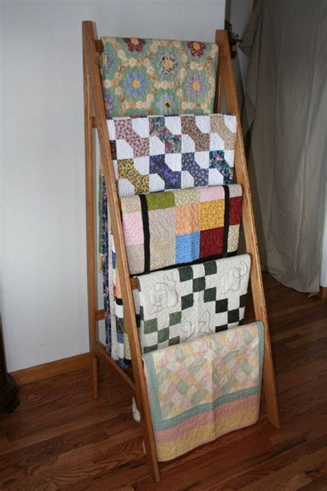 Antique Quilt Display Rack Plans