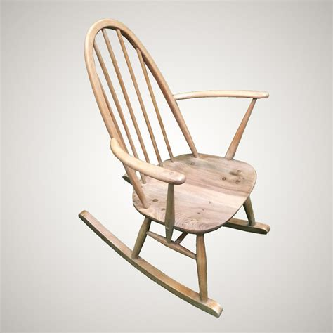 Antique Small Windsor Rocking Chair