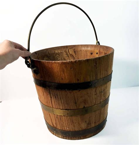 Antique Wood Buckets