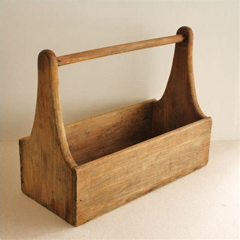 Antique Wood Tools Box