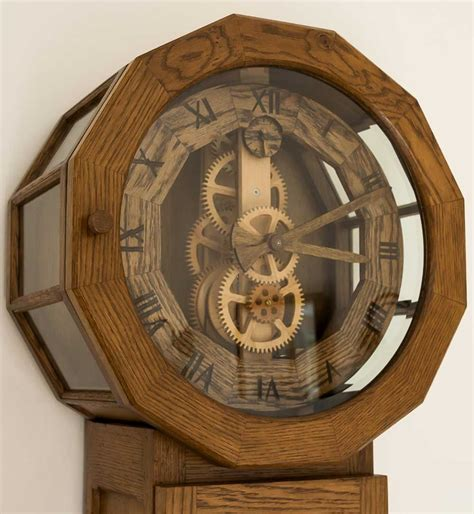 Antique Wooden Clock Plans